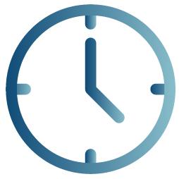 assured direct care clock vector